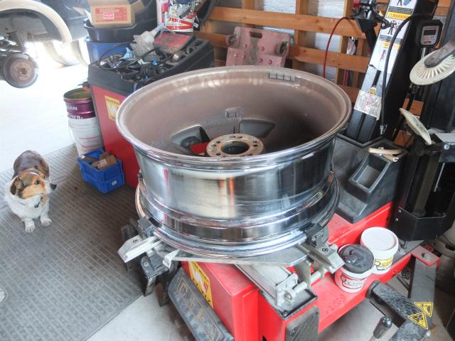 24インチ タイヤ交換