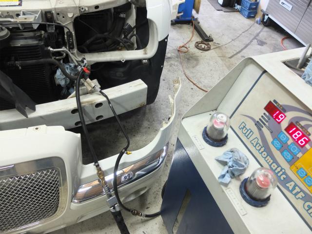 300C ATF交換 オートマチェンジャー