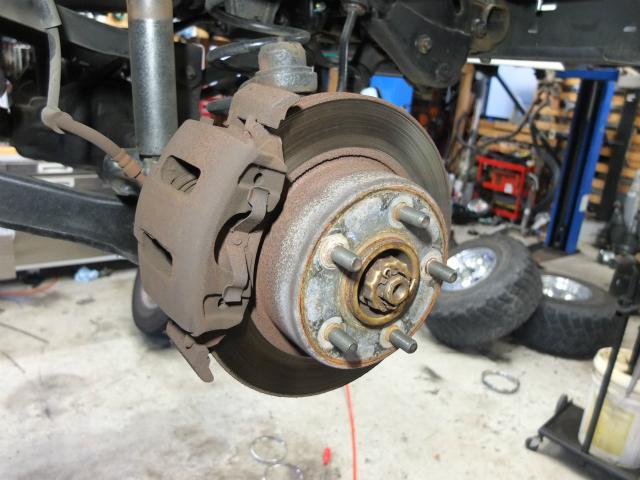 TJラングラー ローター研磨