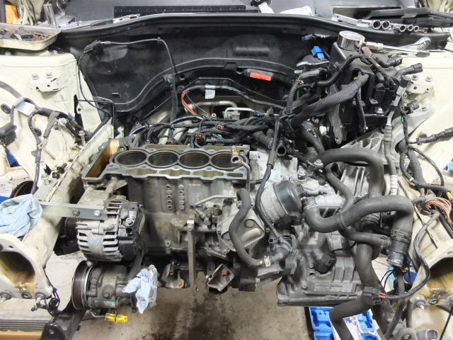 R55 ミニ エンジン不動